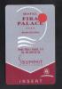 HOTEL KEY CARD  - ( SPAIN BARCELONA   )  HOTEL FIRA PALACE - Hotel Keycards