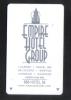 HOTEL KEY CARD  - (  U.S.A. - NEW YORK )  EMPIRE HOTEL GROUP - Hotel Keycards