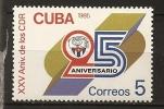 Cuba 1985 N° 2644 ** CDR, Comités De Défense De Révolution, Emblème - Cuba