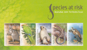 Australia 2009  Species At Risk Miniature Sheet MNH - 2000-09 Elizabeth II