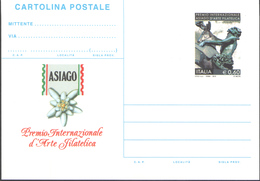 REPUBBLICA ITALIANA INTERO POSTALE ASIAGO PREMIO INTERNAZIONALE D'ARTE FILATELICA 2010 EURO 0,60 - FILAGRANO C269 NUOVO - 1946-.. République