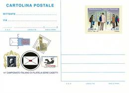 INTERO POSTALE MANIFESTAZIONE FILATELICA NAZIONALE PALERMO: CADETTI 2010 - EURO 0,60 FILAGRANO C268 - NUOVO ** - 1946-.. République