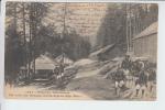 REF20.089   UN COIN DES BARAQUEMENTS ALPINS..CHASSEURS ALPINS. FORÊT DU TOURNAIRET - Regimientos