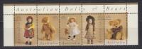 AUSTRALIA Mi.Nr. 1636-1640 Puppen Und Teddybären- MNH - 1990-99 Elizabeth II