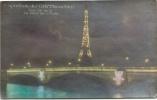 PARIS - Exposition Des Arts Décoratifs - Vue De Nuit - Le Pont De L'Alma - Expositions