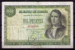BILLETE DE 1.000 PESETAS DE 1949 (RAMON DE SANTILLAN) MUY BONITO - [ 3] 1936-1975: Regime Van Franco