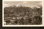 504. Germany , Berchtesgaden Watzmann - Posted In 1934 - Photohaus J. Schmid, Berchtesgaden - Berchtesgaden