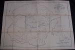 Rare Plan POPP De La Commune De MONBLIART ( Rance Chimay ) Avec Liste Du Parcellaire Et Pochette - Cartes Topographiques