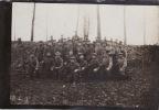Photo D´un Bataillon D´infanterie Allemand Dans L´Aisne (secteur De Guignicourt) (A4, Ww1, Wk1) - War 1914-18