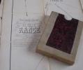 Rare Plan POPP De La Commune De RANCE ( Chimay ) Avec Liste Du Parcellaire Et Pochette - Cartes Topographiques
