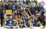 = SERBIA  - 2002 -  Basketball Team 1 - European Champions  =  3 - Yougoslavie