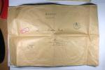 Deutschland Feldpost Dienstelle 21761, Eingeschrieben ->Hamburg 1941, 39 X 26 Cm! - Deutschland