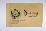 Deutschland 1915 Durch Kampf Zum Zieg Karte