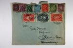 Deutschland Brief Mit Mixfrankatur Heidelberg -> Olten Schweiz