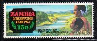 Zambia MNH Scott #83 15n Water Conservation - Conservation Year - Zambie (1965-...)