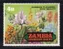 Zambia MNH Scott #86 Zambian Flowers - Conservation Year - Zambie (1965-...)