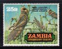 Zambia MNH Scott #89 25n Red Locusts - Conservation Year - Zambie (1965-...)