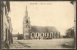 - CPA 80 - Hallencourt, L'église Et Le Monument - Frankreich