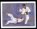 Zambia MNH Scott #461 Souvenir Sheet 30k Martial Arts - 1988 Seoul Olympics - Zambie (1965-...)