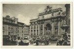Roma - Fontana Di Trevi - Animata - Non Viaggiata - Fontana Di Trevi