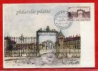 FRANCE CARTE MAXIMUM CHATEAU DE VERSAILLES DU 20/12/1952 DE VERSAILLES - Cartes-Maximum