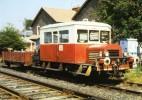 RU 1112 - Draisine Billard DU 50 En Gare - LAQUEUILLE (63) - SNCF - - Other Municipalities