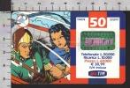 S2347 Ricarica TIM FLASH GORDON E DALE Lire 50000 Scad. GIUGNO 2002 - Italie