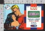 S2368 Ricarica TIM FLASH GORDON E DALE Lire 100000 Scad. MARZO 2002 - Italie