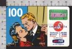 S2380 Ricarica TIM FLASH GORDON E DALE BALLO Lire 100000 Scad. MAR 2001 - Italie
