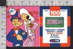 S2384 Ricarica TIM BRACCIO DI FERRO CON OLIVIA Lire 100000 Scad. NOV 2002 - Italie