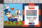 S2385 Ricarica TIM BRACCIO DI FERRO CON OLIVIA Lire 100000 Scad. APRILE 2003 - Italie