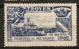 TROYES - FESTIVAL DE MUSIQUE - 19-20 MAI 1907 - Erinnophilie