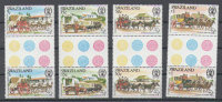 Swaziland - Weltpostkongress 1984 (**/mnh) Zwischenstegpaare - Swaziland (1968-...)