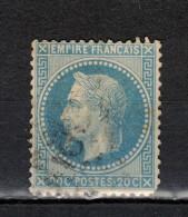 20c Bleu (II) N°29B - 1863-1870 Napoléon III Lauré