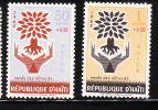 Haiti 1962 World Refugee Year MNH - Haïti