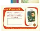 Buvard Club Rouge Et Or Illustrateur  Pierre Dehay - Buvards, Protège-cahiers Illustrés