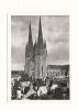 Photo, Lieux, Quimper (29) - 1956 - Les Flèches De La  Cathédrale - Dimension : Env. 9 X 6.5 Cm - Places