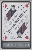 THEME CARTES A JOUER étiquette De Vin ROSÉ LABOURÉ-ROI - LE ROI - Playing-cards