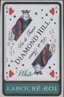 THEME CARTES A JOUER étiquette De Vin BLANC LABOURÉ-ROI - LE ROI - Playing-cards