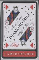 THEME CARTES A JOUER étiquette De Vin ROUGE LABOURÉ-ROI - LE ROI - Playing-cards