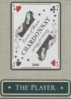 THEME CARTES A JOUER étiquette De Vin CHARDONNAY - LA DAME - Playing-cards