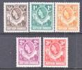Northern Rhodesia 61-5  * - Northern Rhodesia (...-1963)