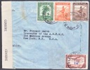 Belgium Congo COVER  CENSORED To US.1943 - 1923-44: Covers