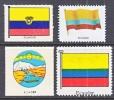 Ecuador Label  FLAGS  * - Ecuador