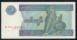 MYANMAR   P69   1   KYAT    1996    UNC. - Myanmar