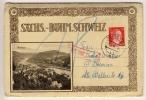 PIRNA - 1944 , SÄCHSISCH-BÖHMISCHE SCHWEIZ , 10 Bilder Im Faltkartenset Nach Bremen - Deutschland