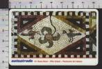 S2504 Tessera ViaCard A1 ROMA NORD VILLA VOLUSII PAVIMENTO DEL TALAMO Lire 50000 Scad. 31.12.2001 - Transporto