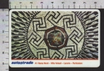 S2505 Tessera ViaCard A1 ROMA NORD VILLA VOLUSII LALARIO PARTICOLARE Lire 50000 Scad. 31.12.2001 - Transporto