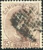 Ed 124 Usado, Amadeo 25 Cts Castaño - 1872-73 Reino: Amadeo I