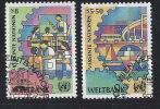 JJ-/-227. N° 89/90, Obl., Cote 3.25 €, Voir Scan Pour Detail ,  Liquidation - Centre International De Vienne
